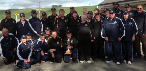 2013 Auckland and Wellington Chanticleer Cup teams