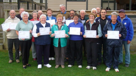 PNZ Coaching course participants